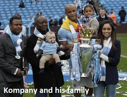 Vincent Kompany family