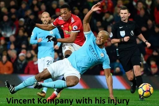 Vincent Kompany injury