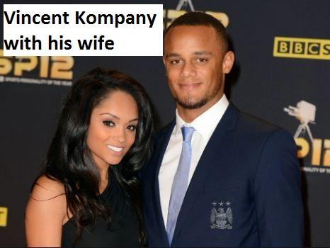 Vincent Kompany wife