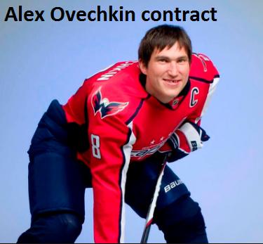 Alex Ovechkin contract