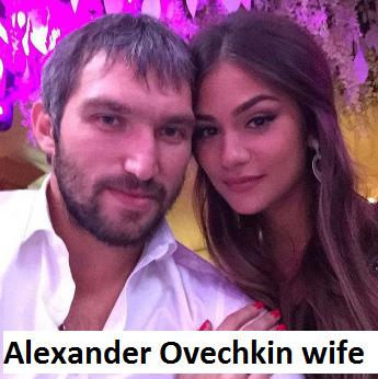 Alexander Ovechkin's wife