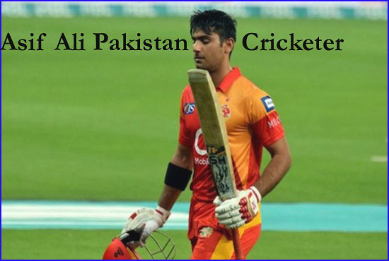 Asif Ali Cricketer Pakistan, brother, wife, family, age, height and so