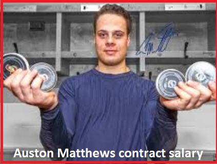 Auston matthews contract