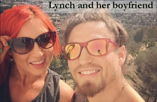 Becky Lynch's boyfriend