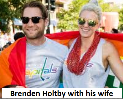 Branden Holtby wife