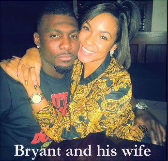 Bryant and his wife