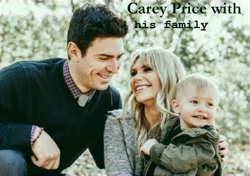 Carey Price family