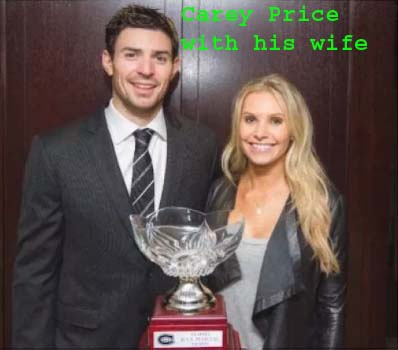 Carey Price's wife