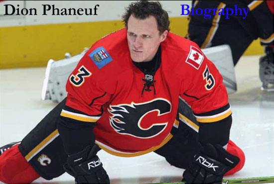Dion Phaneuf Hockey player, wife, contract, salary, height, family and so