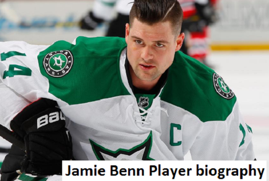 Jamie Benn Hockey player, wife, number, salary, height, family and more