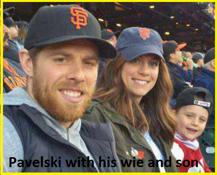 Joe Pavelski with his wife