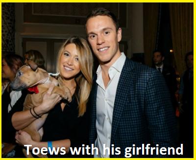 Jonathan Toews girlfriend