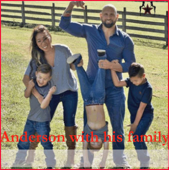 Karl Anderson with his familys