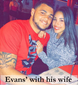 Mike Evans' wife Ashli