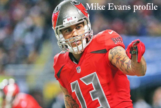 Mike Evans NFL player, wife, height, salary, height, family, draft and more