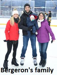 Patrice Bergeron's family