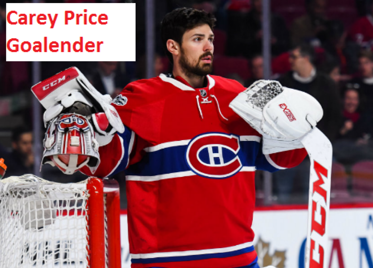Carey Price Hockey Stats Age Wife Contract Family