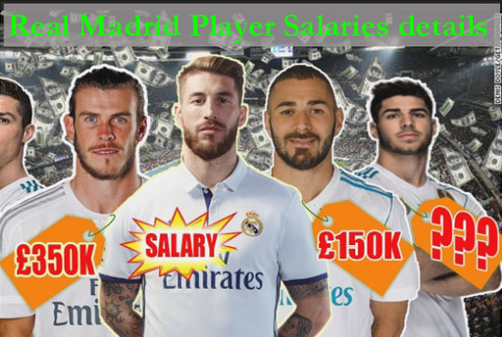 Real Madrid player salaries 2019, wages, revenue, highest paid player and more