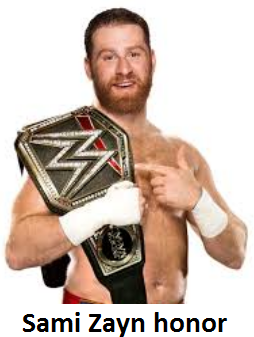Sami Zayn WWE