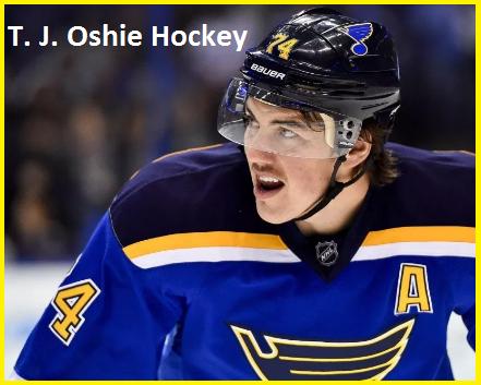 T. J. Oshie Hockey