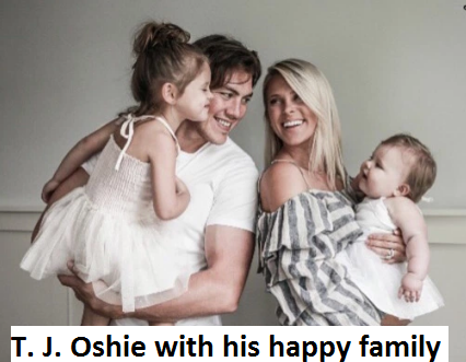 T. J. Oshie family