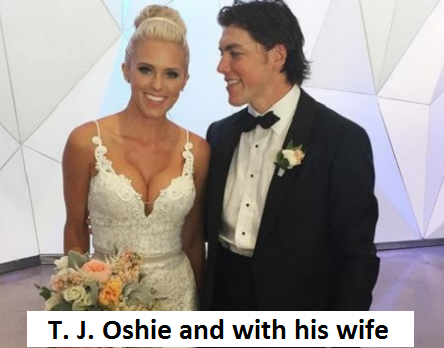T. J. Oshie wife