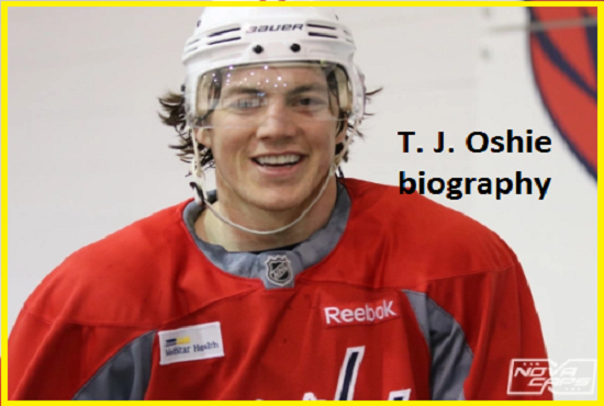 T. J. Oshie Hockey player, wife, number, salary, height, family and more