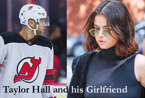 Taylor Hall and his girlfriend