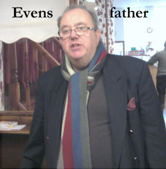 father of Evans