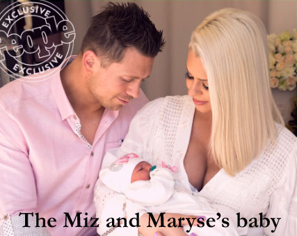 the miz and maryse baby