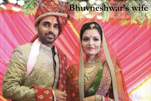 Bhuvneshwar with his wife