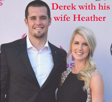 Derek's wife Heather Carr