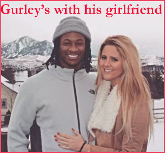 Gurley's girlfriend