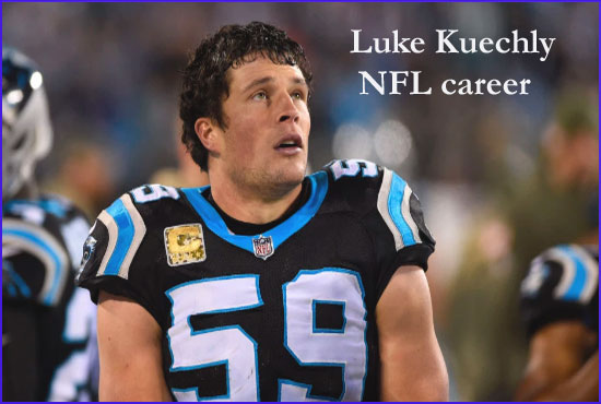 Luke Kuechly NFL player, Stats, wife, age, salary, height, family