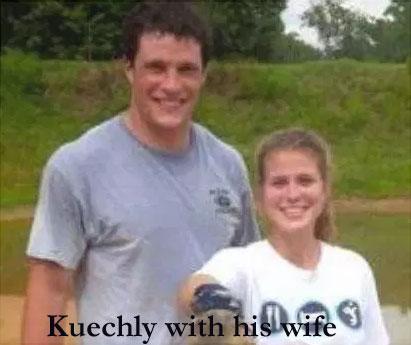 Luke Kuechly's wife