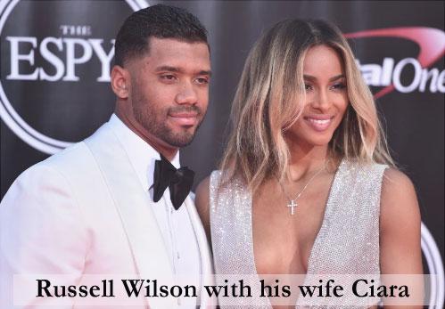 Russel Wilson's wife Ciara