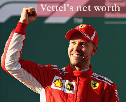 Sebastian Vettel's net worth