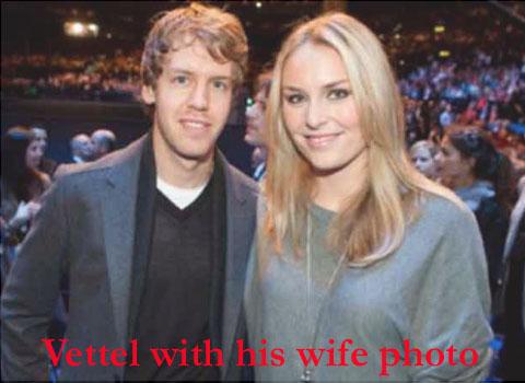 Vettel's wife