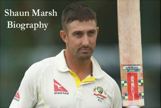 Shaun Marsh Cricketer, age, IPL, wife, family, son, age, height and more