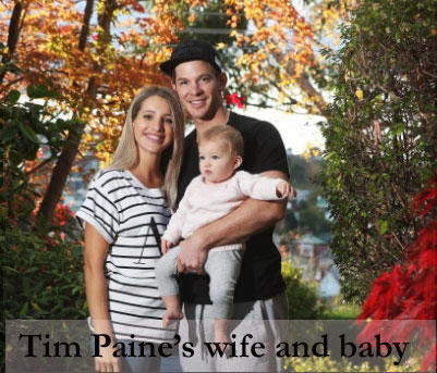 Tim Paine's wife