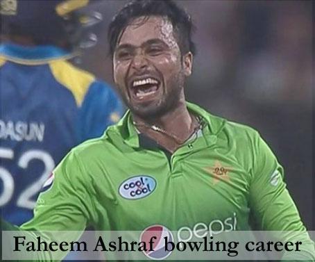 Ashraf bowling
