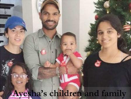 Ayesha Mukherjee's children