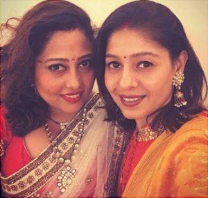 Chauhan's sister