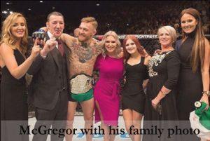 Conor McGregor family