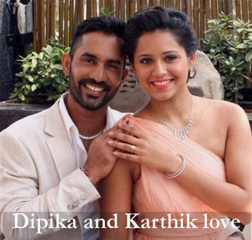 Dipika Pallikal's husband