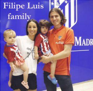 Filipe Luis family