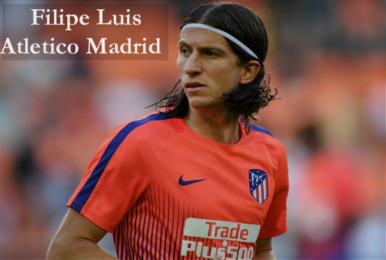 Filipe Luis Profile, height, wife, family, net worth, and so