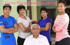 Geeta Phogat sisters