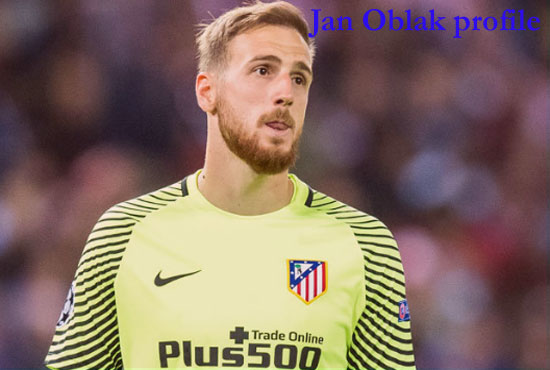 Jan Oblak Profile, height, wife, family, FIFA, net worth, and club career