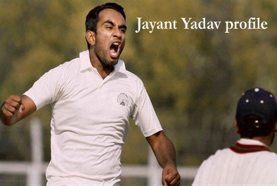 Jayant Yadav Cricketer, bowling, IPL, wife, family, age, height and so